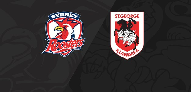 Full Match Replay: Roosters v Dragons - Round 7, 2020