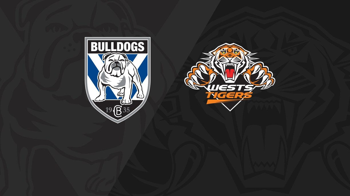 Full Match Replay: Bulldogs v Wests Tigers - Round 7, 2020