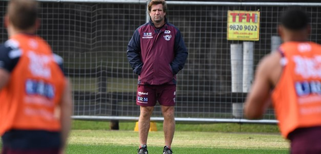 Hasler spray puts Manly on notice