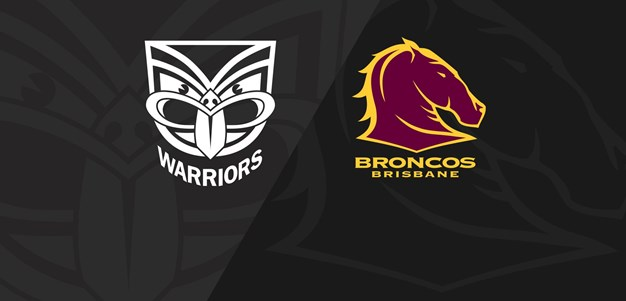 Full Match Replay: Warriors v Broncos - Round 8, 2020