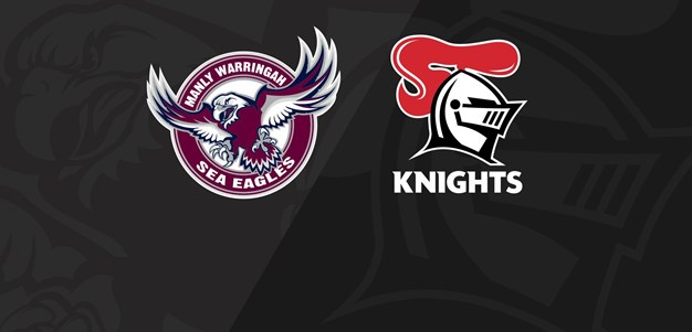 Full Match Replay: Sea Eagles v Knights - Round 8, 2020