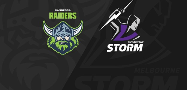 Full Match Replay: Raiders v Storm - Round 9, 2020