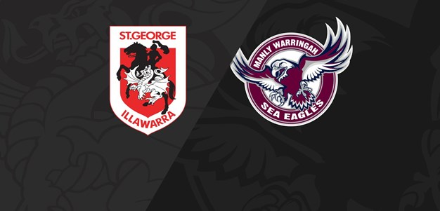 Full Match Replay: Dragons v Sea Eagles - Round 9, 2020
