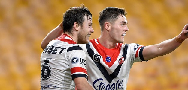 The value of Roosters playmakers without the ball