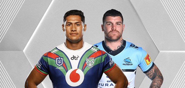 Warriors v Sharks - Round 10