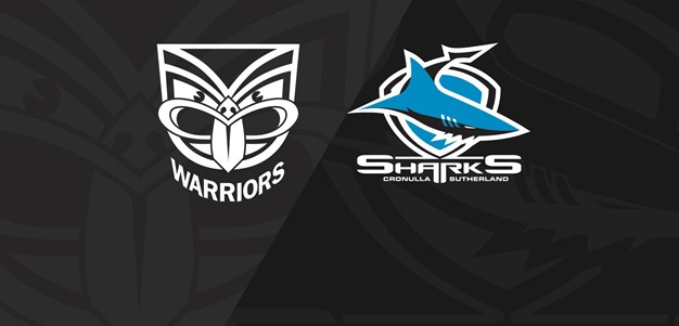 Full Match Replay: Warriors v Sharks - Round 10, 2020