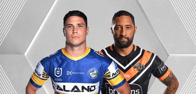 Eels v Wests Tigers - Round 11