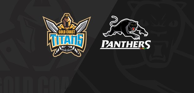 Full Match Replay: Titans v Panthers - Round 11, 2020