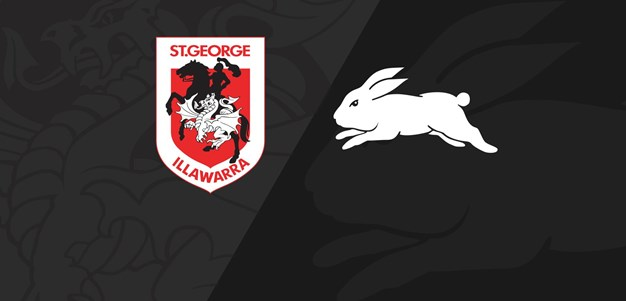 Full Match Replay: Dragons v Rabbitohs - Round 12, 2020