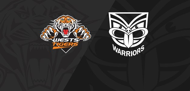 Full Match Replay: Wests Tigers v Warriors - Round 12, 2020