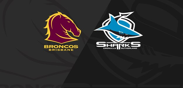 Full Match Replay: Broncos v Sharks - Round 12, 2020