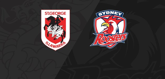 Full Match Replay: Dragons v Roosters - Round 13, 2020