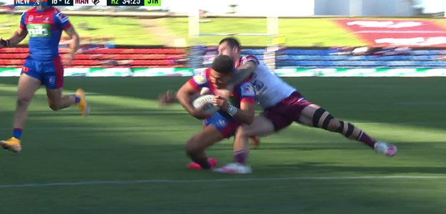 Bunker overrules to award try to Hunt