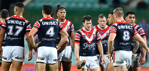 Ailing Roosters on the slide after Round 14