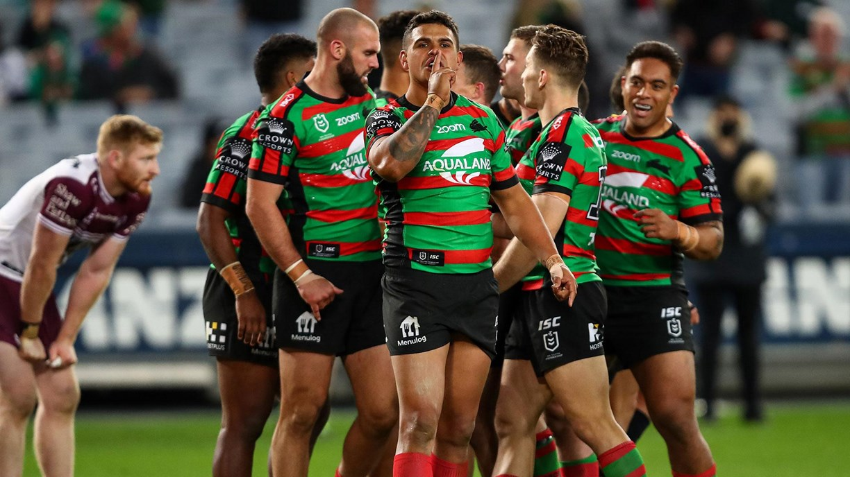Nrl 2020 South Sydney Rabbitohs Manly Sea Eagles Round 15 Match Report Nrl