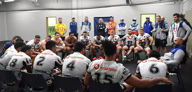 Warriors staff step in to make numbers at training