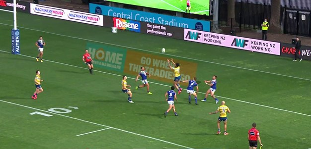 Blake try gives Eels some breathing room