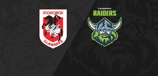 Full Match Replay: Dragons v Raiders - Round 18, 2020