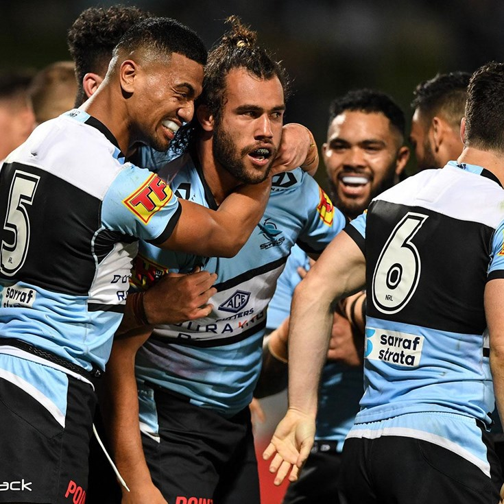 Relive the final moments of Sharks v Warriors