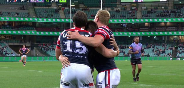 Luke Keary just loves the blindside