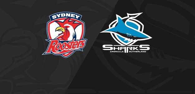 Full Match Replay: Roosters v Sharks - Round 19, 2020