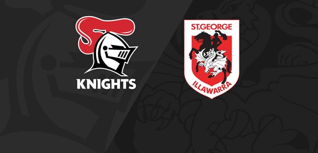 Full Match Replay: Knights v Dragons - Round 19, 2020