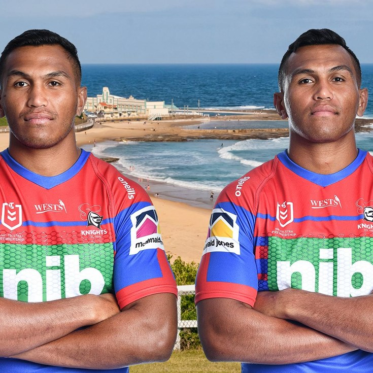 Twin towers: Saifiti brothers driving Knights pack