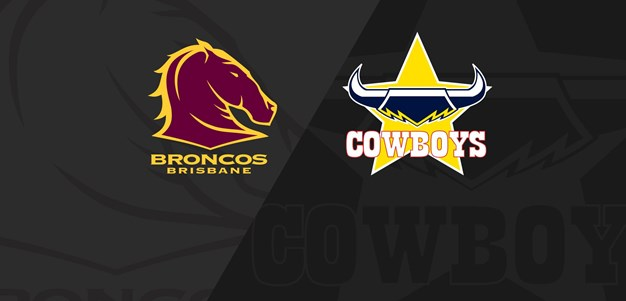 Full Match Replay: Broncos v Cowboys - Round 20, 2020