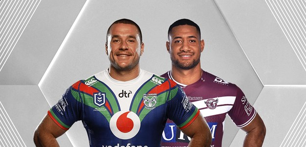 Warriors v Sea Eagles - Round 20