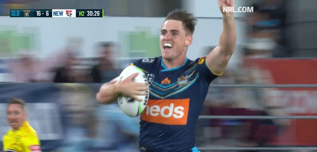 Brimson gives Ponga a taste of his own medicine