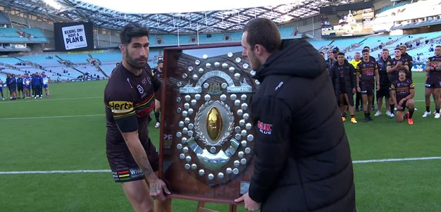 Abdo presents Panthers with J.J. Giltinan Shield