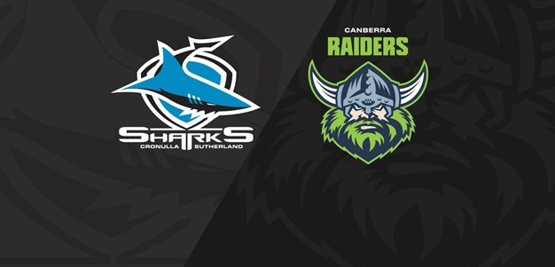 Full Match Replay: Sharks v Raiders - Round 20, 2020