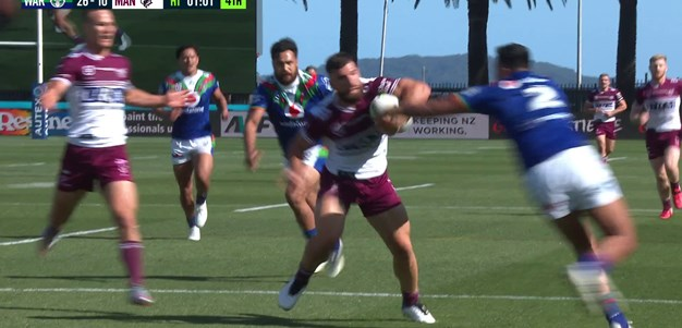 Manly produce a pearler before the break