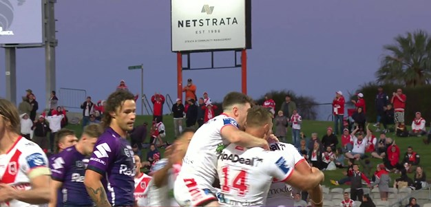 Frizell gets a double and the Dragons secure the win