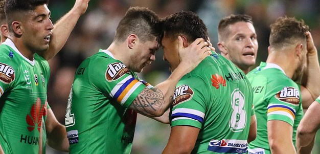The final moments of the Raiders-Rabbitohs 2019 PF