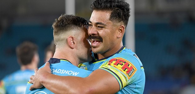 Titans' top five tries of 2020