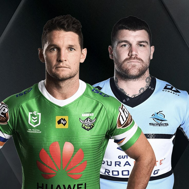 Raiders v Sharks - Elimination final