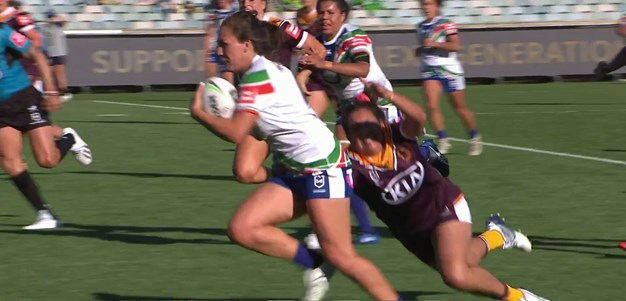 Pelite gets her first NRLW try
