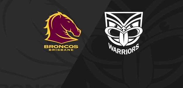 Full Match Replay: NRLW Broncos v Warriors - Round 1, 2020
