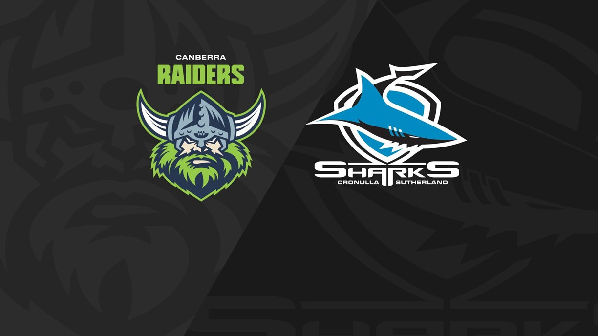 Full Match Replay: Raiders v Sharks - Finals Week 1, 2020