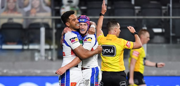 Knights' top five tries of 2020