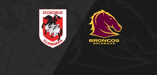 Full Match Replay: NRLW Dragons v Broncos - Round 2, 2020