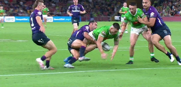 Cameron Smith with one of the great finals try savers