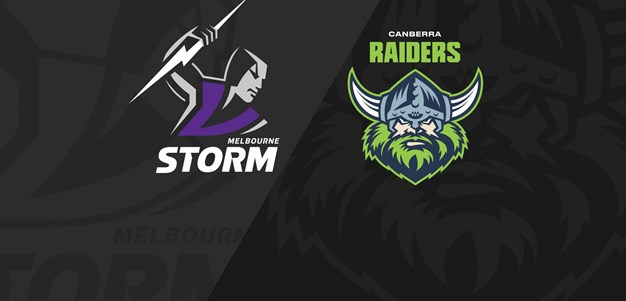 Full Match Replay: Storm v Raiders - Finals Week 3, 2020