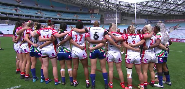 Dragons and Warriors share emotional moment