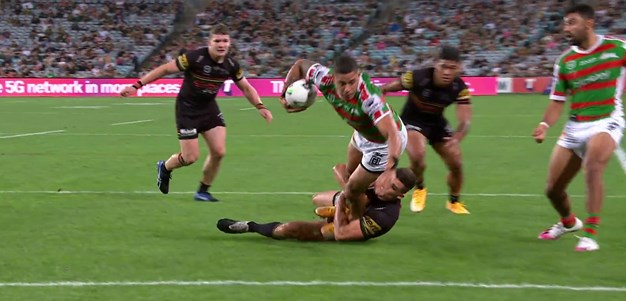 Gagai scores as Walker directs play down the shortside