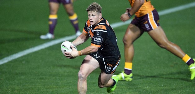 Harry Grant awarded Dally M Rookie of the Year on NRL 360