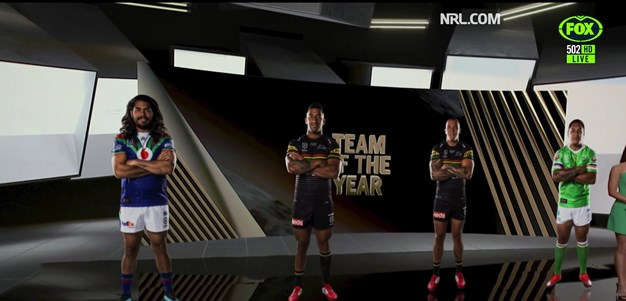 Dally M Team of the Year - Front and second row