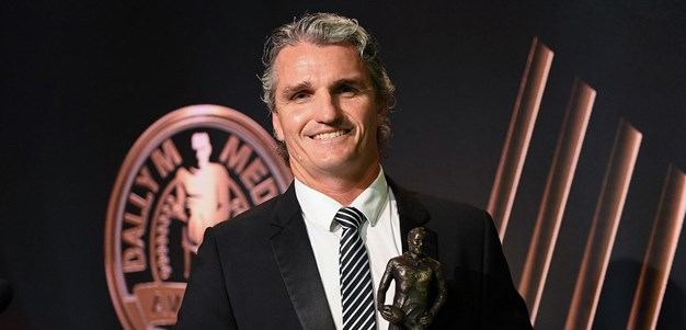 Ivan Cleary claims Dally M Coach of the Year