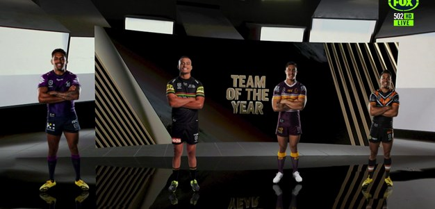 Dally M Team of the Year - Wingers and centres